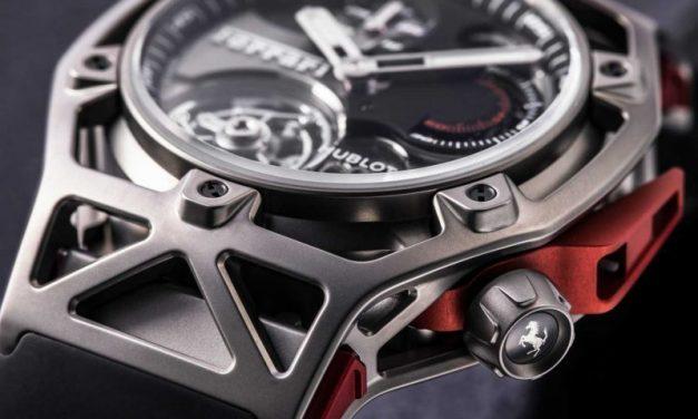 Hublot & Ferrari: l'orologio dei 70 anni