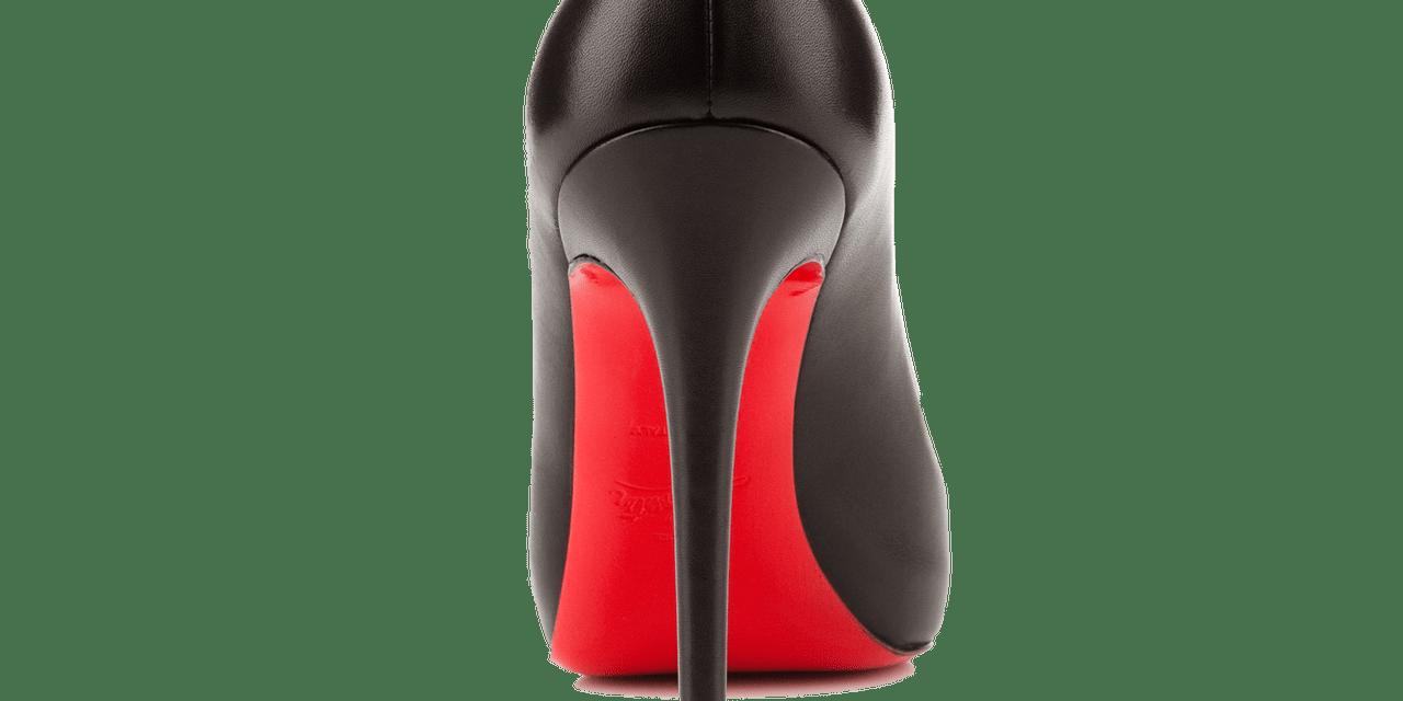 La suola rossa di Louboutin: il segno distintivo di un marchio